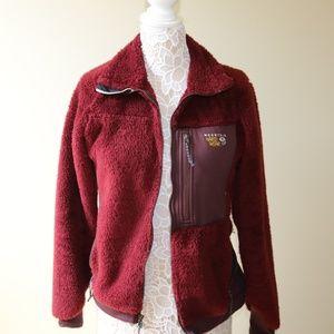 Mountain Hard Wear Fluffy Zip up Jacket
